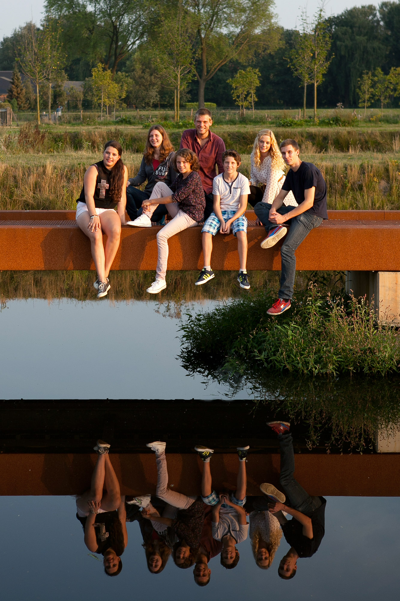 Portret- familie Korstanje