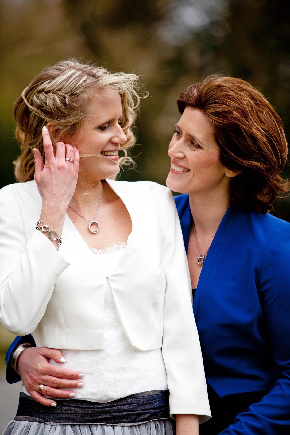 Bruiloft Eveline en Leonie