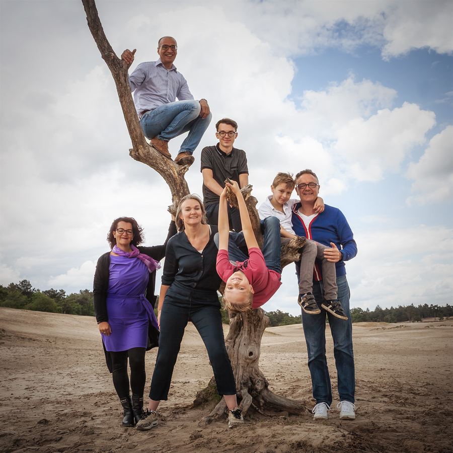 Portret familie Heidy